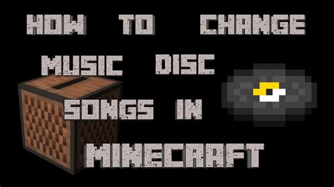 How to Change Music Disc Songs in Minecraft [1