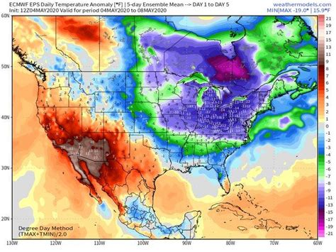 """""""Winter-Like Chill"""" Targets East For Mother's Day Weekend"""