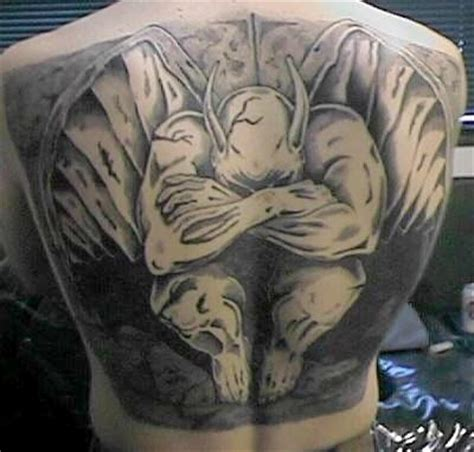Tattoos by Designs: Gargoyle Tattoo Meanings and Photos