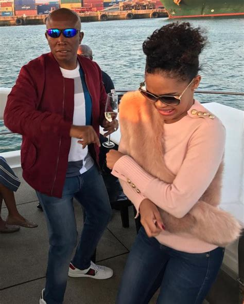 Romantic pictures of Julius Malema and his Amazing wife