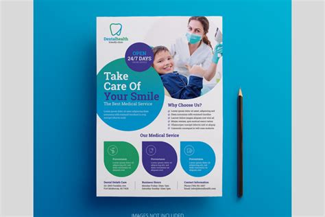 Dental Flyer Template Free Download - MaxpoinT Hridoy