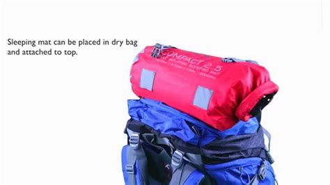 How to pack a rucksack - YouTube