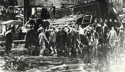 The Great Molasses Flood of 1919 Killed Dozens and Left a