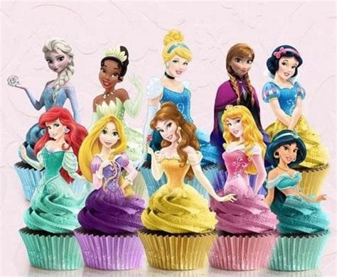 Disney Princess Cake Toppers Ariel Cupcake Toppers