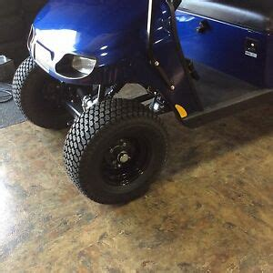 Set of 4 - 20 inch golf cart wheels with LIFT KIT COMBO