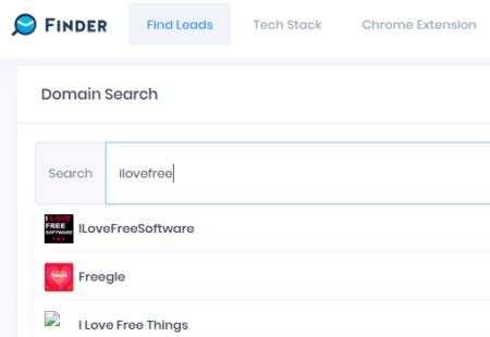 Email Finder Tool to Find Email Addresses for Any Domain Free
