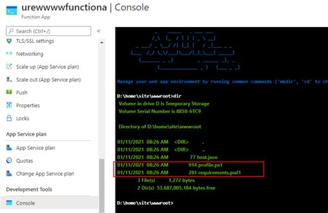 Issue in deploying Azure powershell function app with