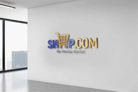 Free Logo Design Template for Online Store – GraphicsFamily