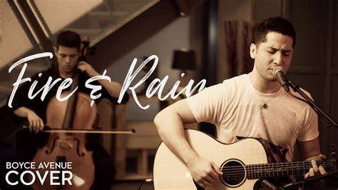 Fire And Rain - James Taylor (Boyce Avenue acoustic cover