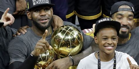 LeBron's Son Bronny Schools A Few Kids From The
