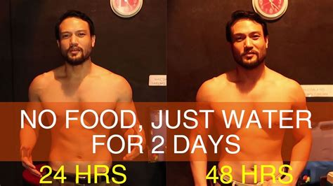 Filipino Guy Tries 2 DAY WATER FASTING (No Food for 2 Days