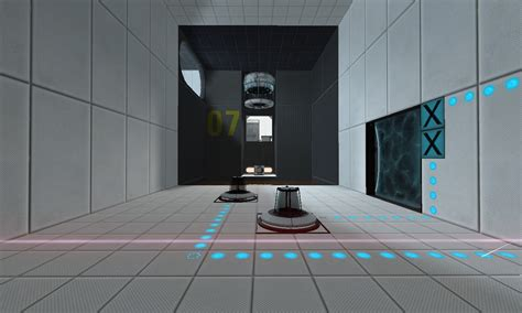 Clean Test Chamber Sneak Peek image - Welcome Back mod for
