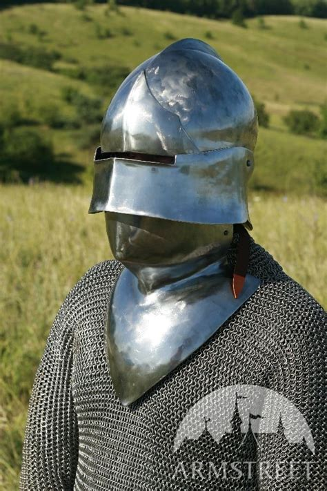 Medieval helm, sallet, SCA armour, SCA helm for sale