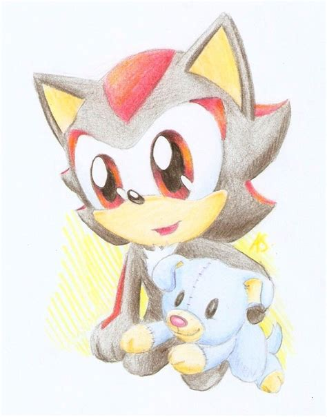 little shadow with plushie - Baby Shadow Photo (20250603