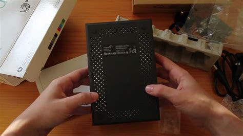 Unboxing Seagate Expansion 2TB USB 3