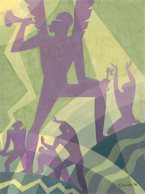 Aaron Douglas Paintings Go to the Met and the National