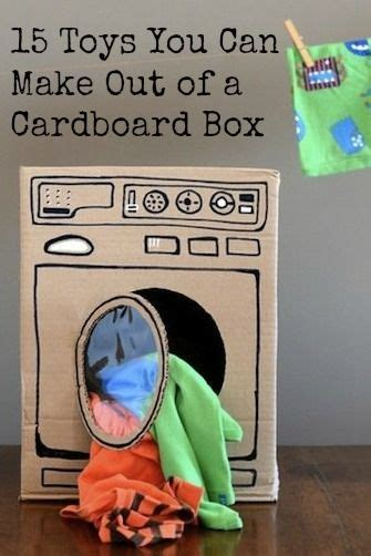 15 Toys You Can Make Out of a Cardboard Box