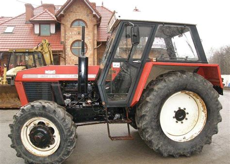 Zetor 8145 nie ursus 914 tractor from Poland for sale at