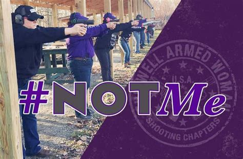 The Well Armed Woman Launches #NotMeDay Movement :: Guns
