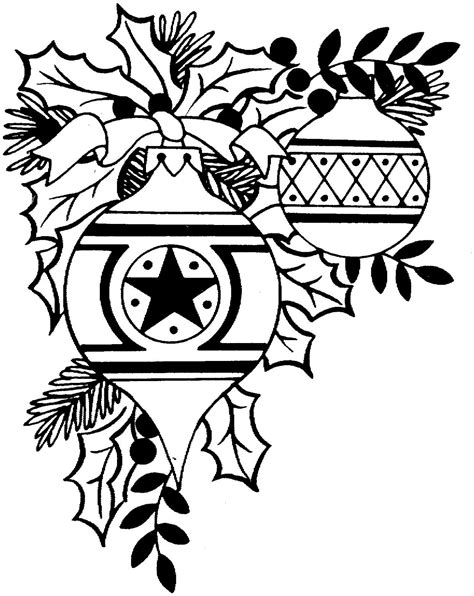 Clip Art Black And White Country Christmas Clipart