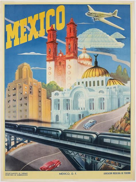 Cool travel posters at Miami Int'l Airport - Stuck at the