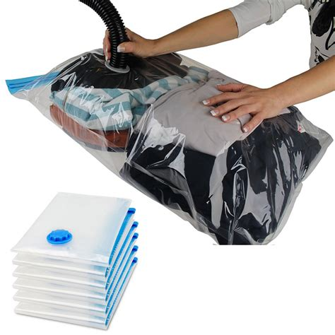 LARGE SPACE SAVE STORAGE VACUUM SEAL BAGS CLOTHES BEDDING
