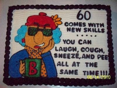 Beck's Maxine Cake for 60th Birthday