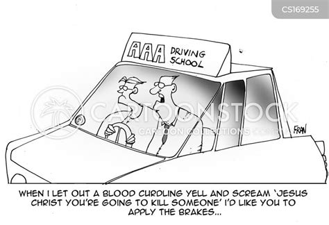 Learner Driver Cartoons and Comics - funny pictures from