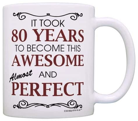 80th Birthday Gifts for Women - 25 Best Gift Ideas for