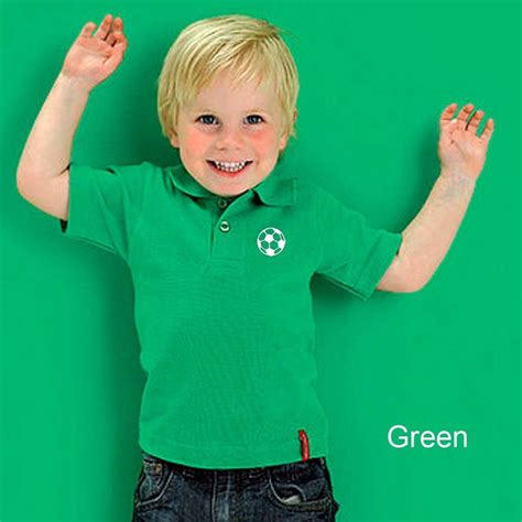 Matching Dad And Child Football Polo Shirts By Simply