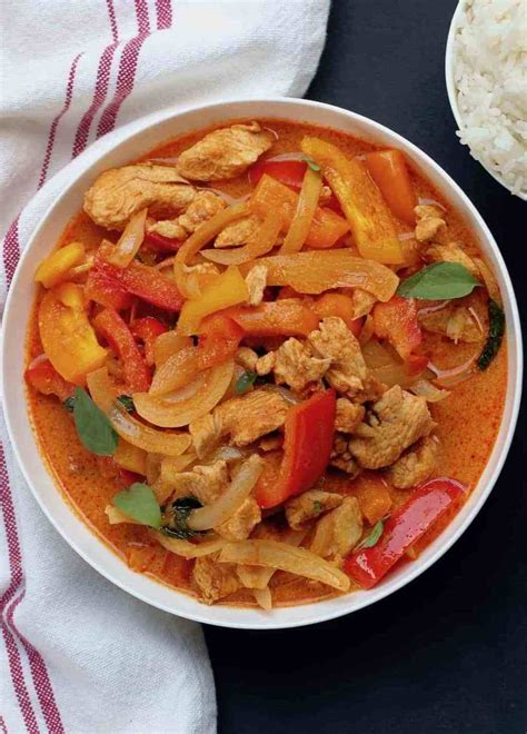 Thai Red Curry Chicken - Instant Pot - Ministry of Curry