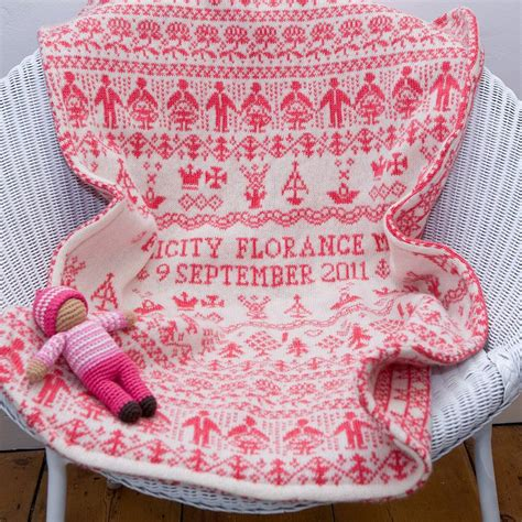 personalised baby blanket by dora mouse